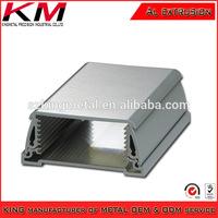 Customized Oxidation Extruded Aluminum Alloy Heat Sink Enclosure