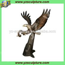2014 flying bronze eagle sculpture