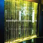Crystal bead window curtain,beautiful fiber optic OM956