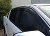 2012 Door window visor/Weather shield for Ford ranger accessories