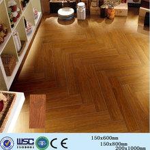 H5P16102A glazed wooden texture tile porcelain flooring tile holographic
