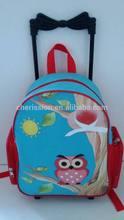 Kids trolley trendy school bag