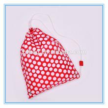 Custom nylon drawstring,promotional drawstring bag