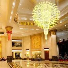 2014 modern luxury white crystal chandelier for wedding led fiber optic chandelier