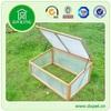 Garden Large Wooden Cold Frame Backyard Portable Greenhouse Kit DXGH001