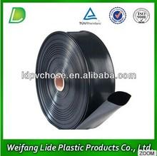 black plastic farm drip irrigation water pipe roll