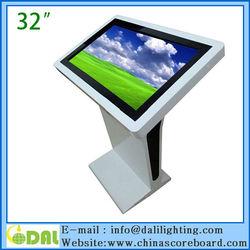 Hot selling 32 inch kiosk multimedia all in one