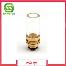 Sailing original natural glass drip tip electronic cigarette drip tip 510