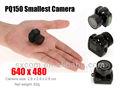 Novos produtos 2014 muito, muito pequena câmera escondida espião câmera de rede câmera escondida no banheiro