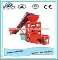 Hf marca QTJ4-26C baixo preço bloco de concreto máquina, Manual do bloco que faz a máquina