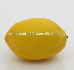 direct factory supplier artificial cheap artificial fruit lemons