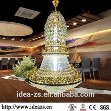 C9153 led crystal chandeliers lights ,modern black glass chandelier ,garnet chandelier earrings