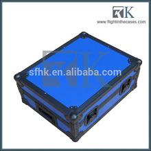 17 polegadas peso leve de efeitos de guitarra pedal board com cor azul