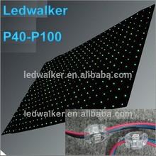Ledwalker led mesh screen club curtain light indoor led curtain