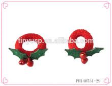 Mini elastic hair band,kids christmas hair scrunchies,hair accessories