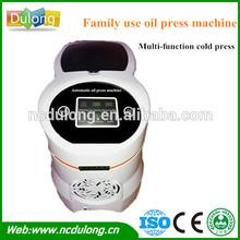 Wholesales price DL-ZYJ06 automatic screw cold pressed moringa oil press