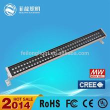 Cree /Bridgelux/Epistar chip RGB 72w dmx rgb led wall washer