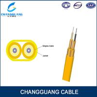 GJFJBV fiber optic cable price per meter 4 core multimode fiber optic cable