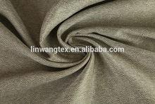100% polyester popular linen fabrics blackout drapes