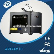 Stampanti 3d dropship, tessuto di stampa metallico della stampante 3d, macchina stampante 3d 2014