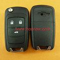 De haute qualité& vente chaude cherolet 3 bouton de la télécommande ébauche de clé& shell clés& clé couvre, clé de voiture