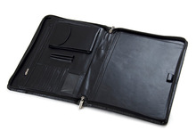 New fashion high quality leather portfolio