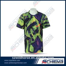 custom dye sub t-shirt printed