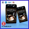 matt black coffee bag wholesale/retail