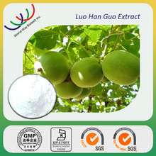 free sample GMP HACCP manufacturer sweetner KOSHER cert. mogroside V luo han guo extract