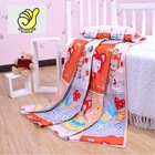 New 2014 Baby Products 100% cotton Baby Kids Blanket Swaddle Bath towel with cartoon picture--Red color