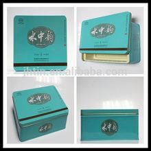 dongguan alibaba china tea tin boxes/green tea tin box/chinese tea set gift box