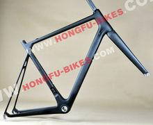 2014 Hongfu V- Brake Bikes Carbon road bike frame ,Full Carbon 700C Frameset, Super Light Carbon Road Frame