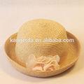 Moda de papel sombrero de paja/venta al por mayor de paja sombrero de navegante