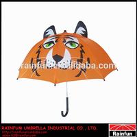 2014 Tiger Umbrella Children umbrella Cartoon kid Umbrella