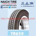 Triângulo tr659/pneus tbr/com ponto& certificado gcc/295/75r22.5
