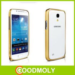 Love mei aluminum phone case 0.7mm metal bumper mobile case for GALAXY S4 MINI