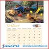 personal mini paper calendar