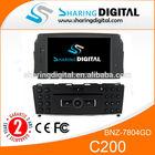 Sharingdigital BNZ-7804GD car DVD support 3G WIFI DVR rear view camera used tv parts for Benz