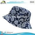 Venta al por mayor de alta calidad de tela africana encargo de algodón sombreros del cubo( oem)