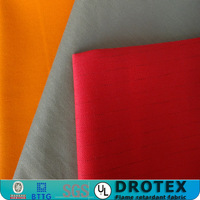 Manufacture directly sale high heat 245gsm 60% Cotton/ 40% Polyester Woven Twill flame resistant cotton fabric