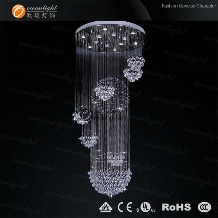 Hanging crystal ball chandelier irregular crystal chandeliersom6801 12 buy hanging crystal - Crystal hanging chandelier ...