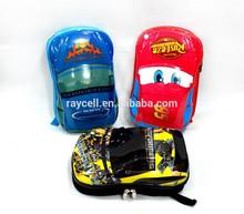 2014 alibaba china Cars School bag Children backpacks kids Boys Girls baby bags