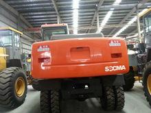 13ton hydraulic excavator in wheel