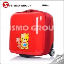 4pcs eva trolley case rubber pvc luggage