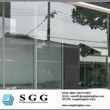 Tempered quality frameless glass fence