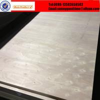 Raw poplar plywood for sofa frame