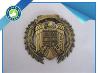 Custom high quality metal antique gold 3D eagle pins