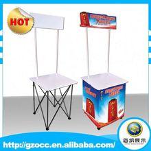 Use for ad's display supermarket promotion desk