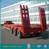 chengda special purpose vehicle, heavy machine transportation semi trailer