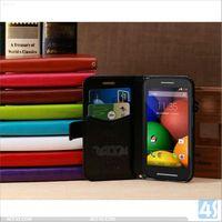 High quality Minion leather Case for Motorola MOTO E P-MOTXT1022PUCA004